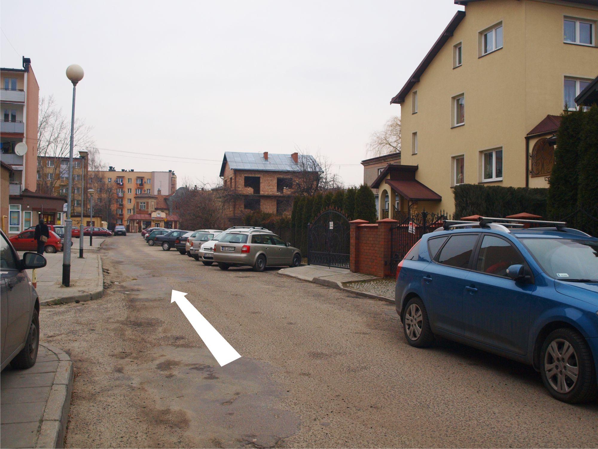 Ulica Przybyszowskiego jednokierunkowa