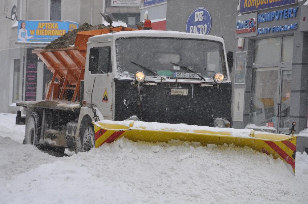 Atak zimy w Jaśle