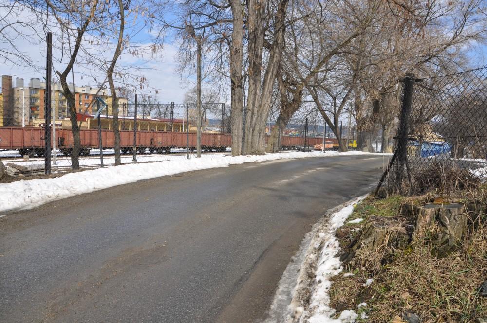 Ulica Kolejowa w Jaśle