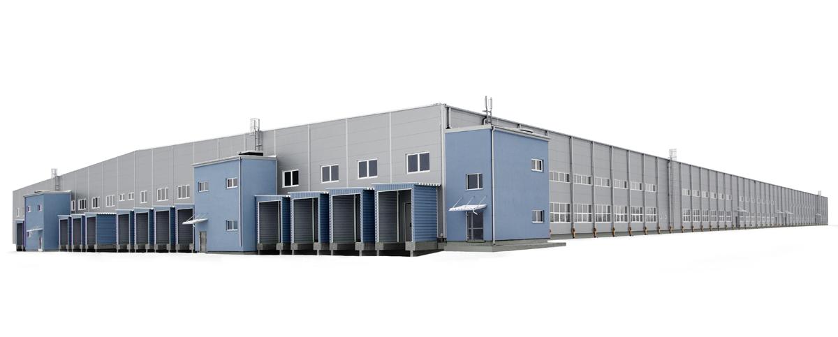 Nowo budowana fabryka mebli w Jaśle