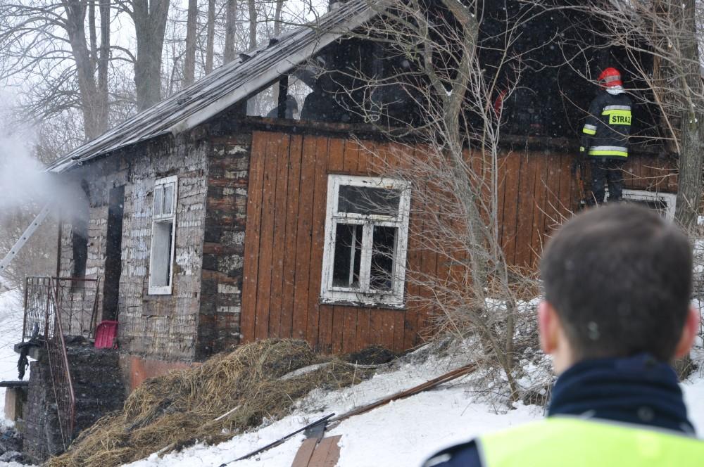 Tragiczny pożar w Nowym Żmigrodzie