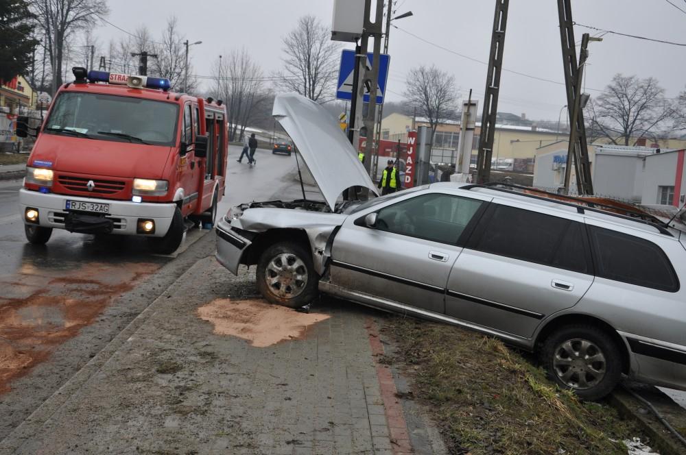 Wypadek na Towarowej