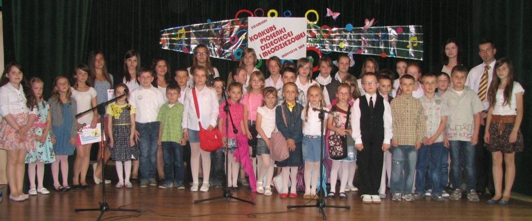 Konkurs piosenki w Skołyszynie