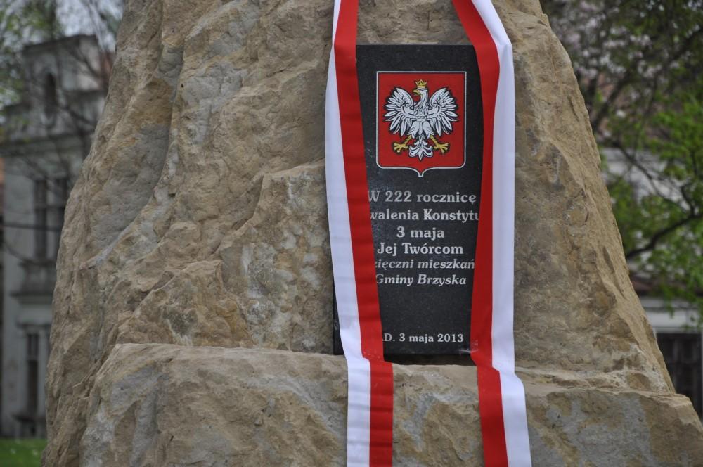 Obelisk w Brzyskach