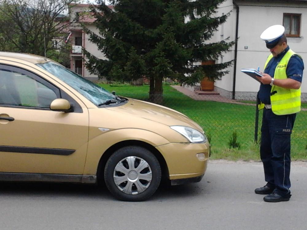 Wypadek w Nawsiu Kołaczyckim