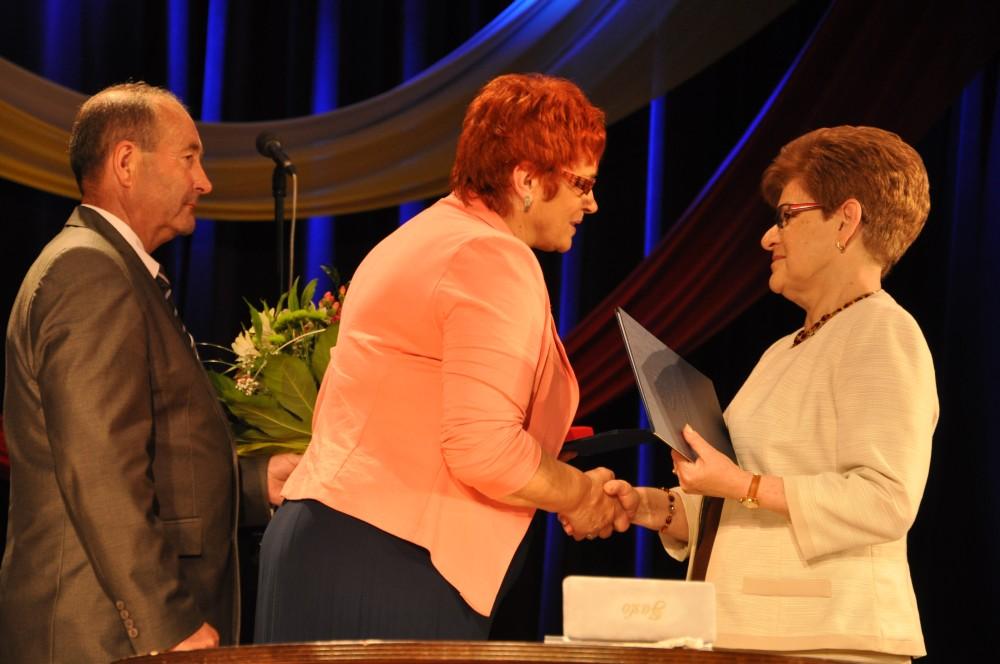 Uroczystość wręczenia tytułów Honorowego Obywatela Miasta Jasła