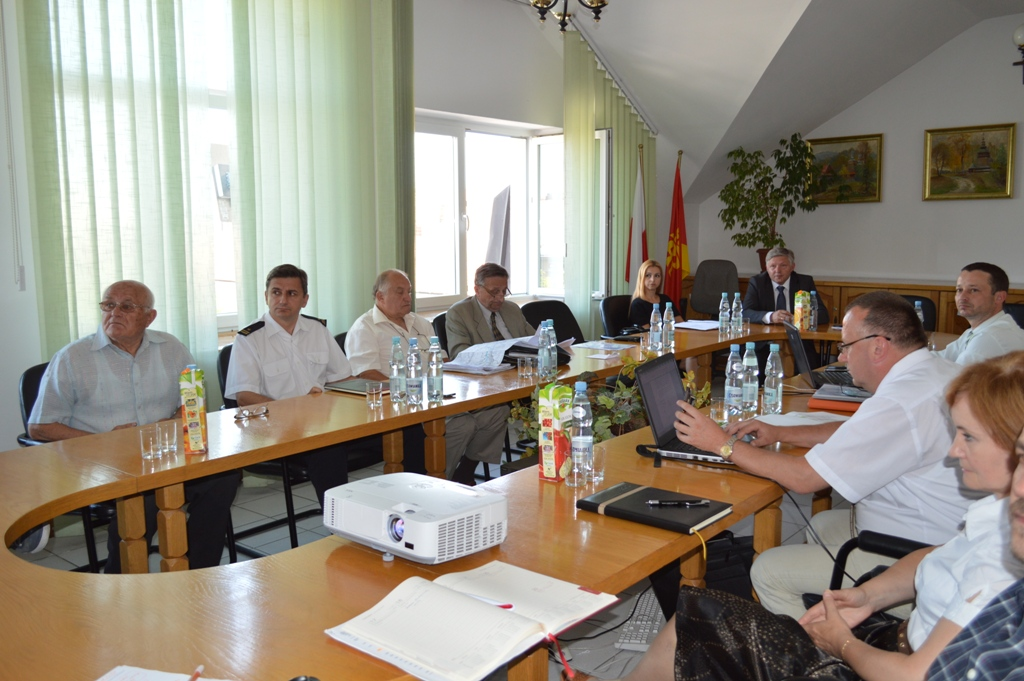 Realizacja zabezpieczeń przeciwpowodziowych w Jaśle