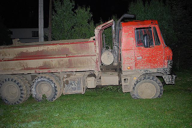 Skradziona ciężarówka
