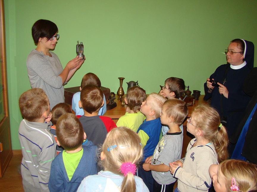 Lekcja biblioteczna w Szebniach