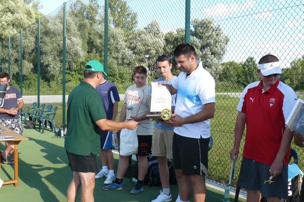 I Gminny Turniej Tenisa Ziemnego