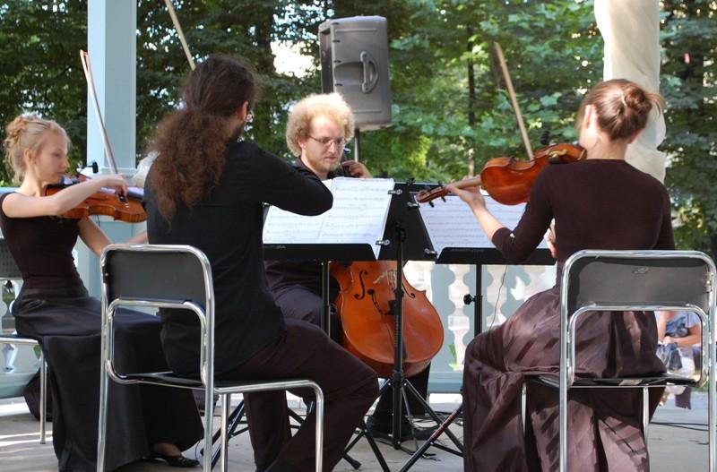 Niedzielny wieczór muzyczny w Parku Miejskim