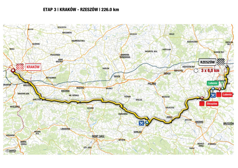 Mapa etapu III