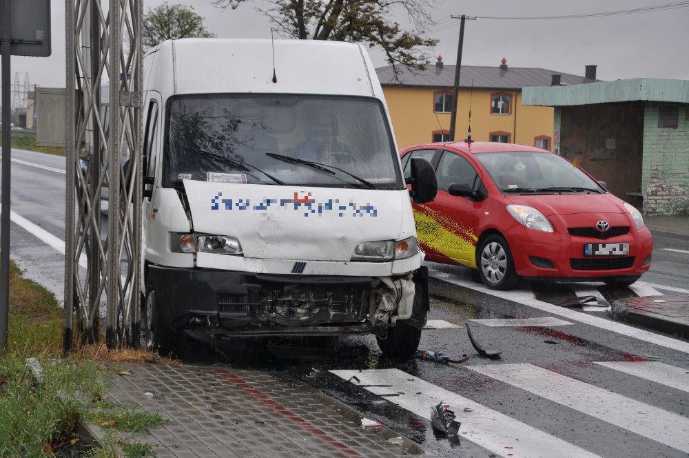 Wypadek na Bieszczadzkiej