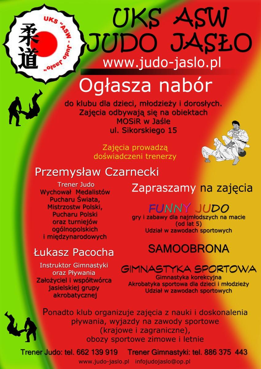 Zapisy na judo