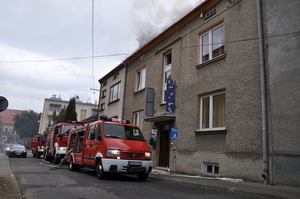 Pożar na Basztowej