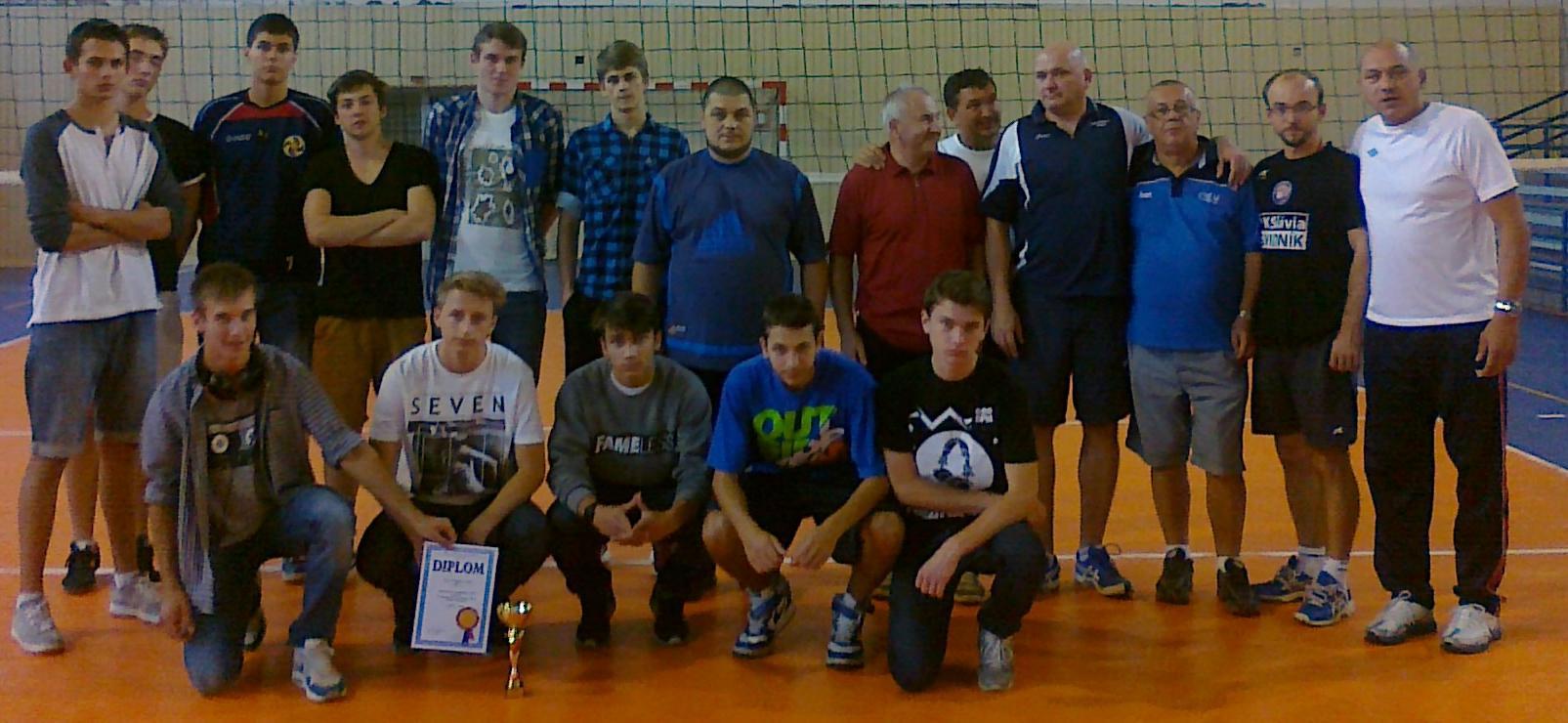 Juniorzy na turnieju we Vranovie