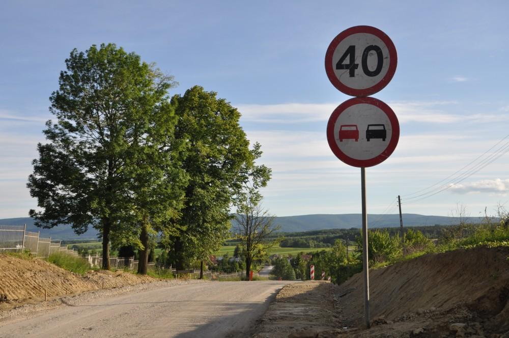 Droga powiatowa Dębowiec-Folusz