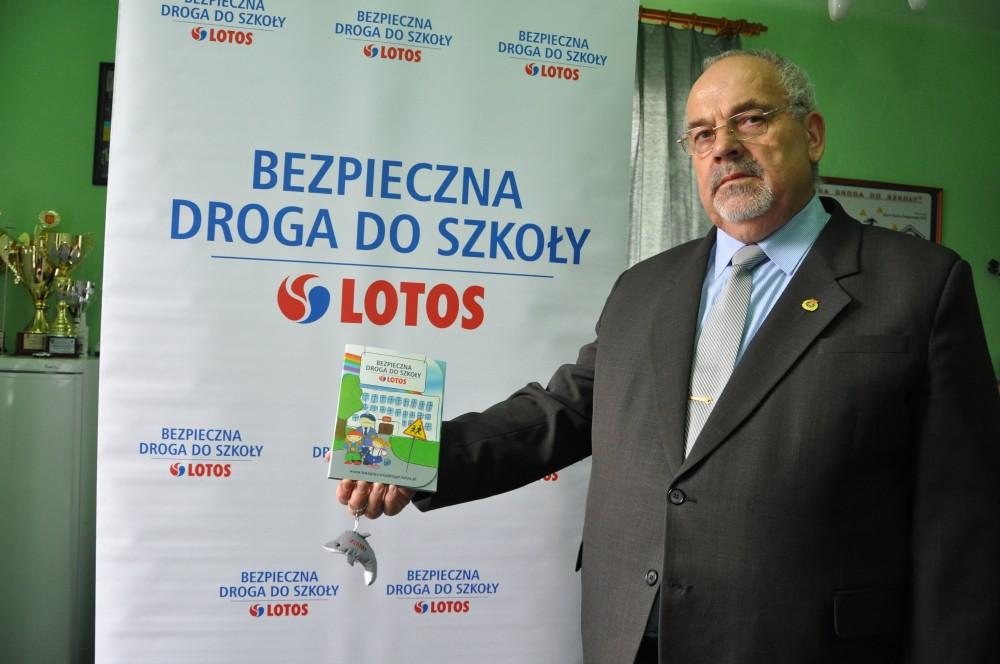Prezes Jasielskiego Klubu Motorowego i Ratownictwa Drogowego Józef Biernacki