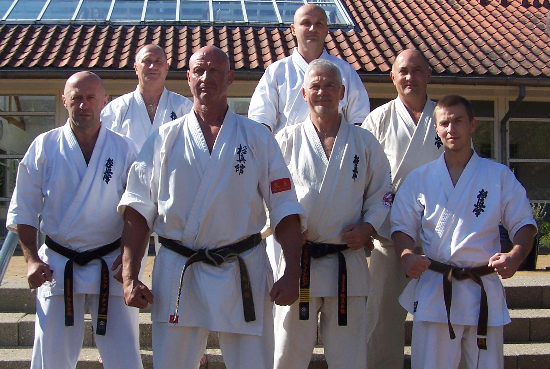 Obóz karate w Danii