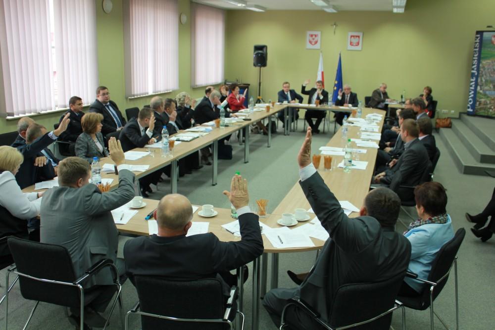 Sesja Rady Powiatu Jasielskiego