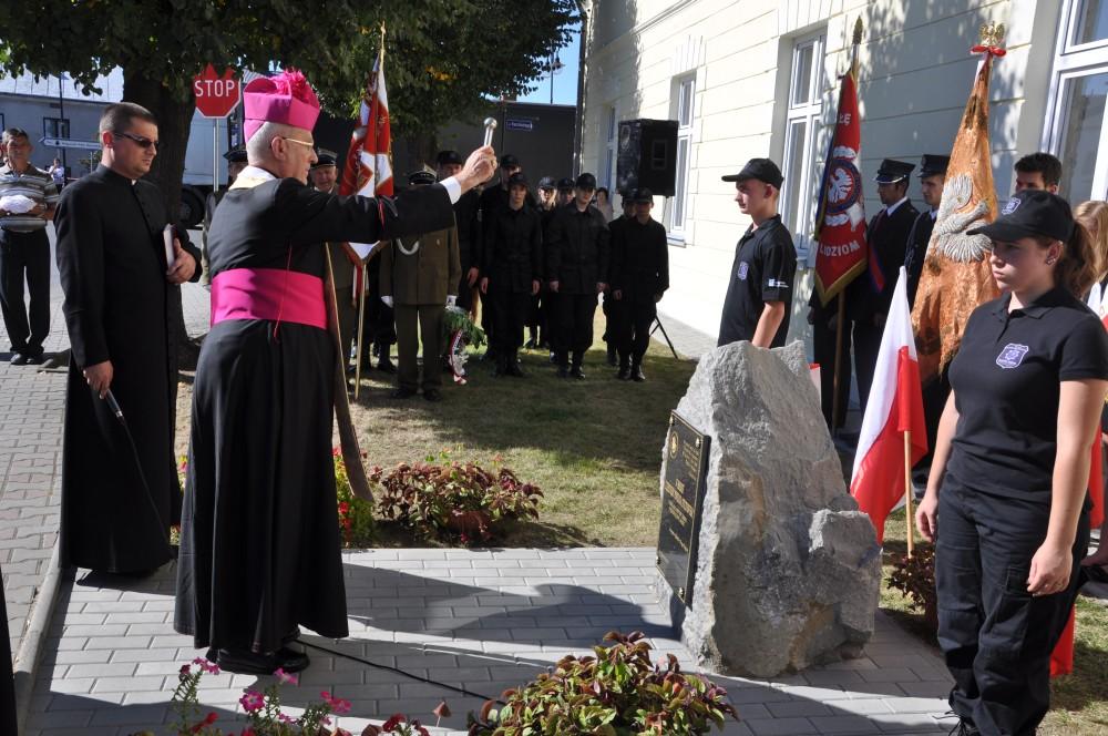 Odsłonięcie obelisku w Nowym Żmigrodzie