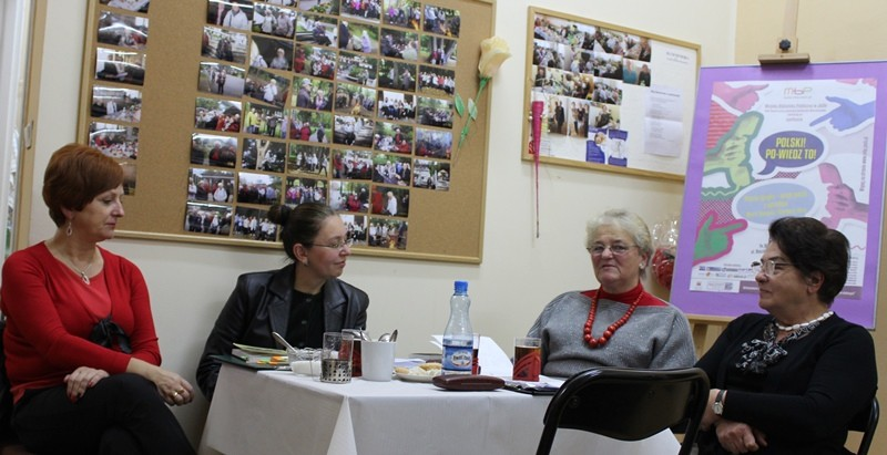 Spotkanie w Klubie Seniora