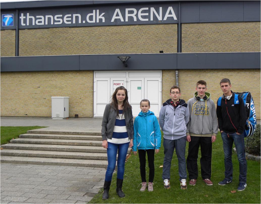 Jessica na mistrzostwach w Danii