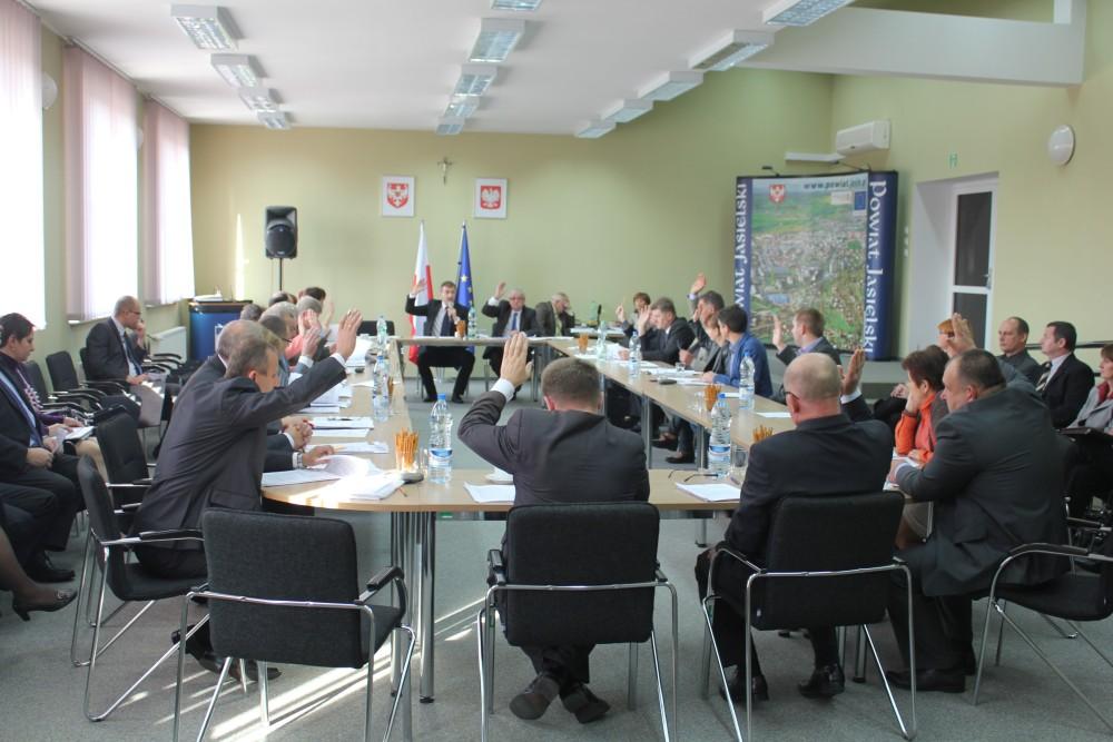 XLVI Sesja Rady Powiatu Jasielskiego