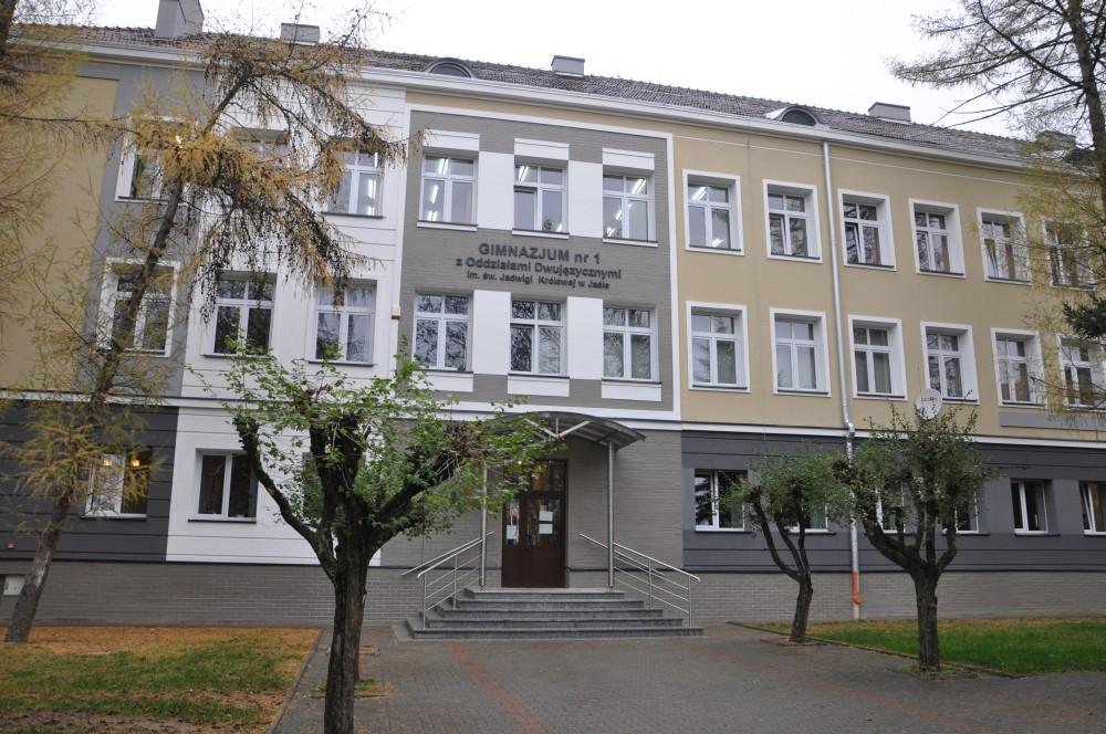 Termomodernizacja Gimnazjum nr 1 w Jaśle
