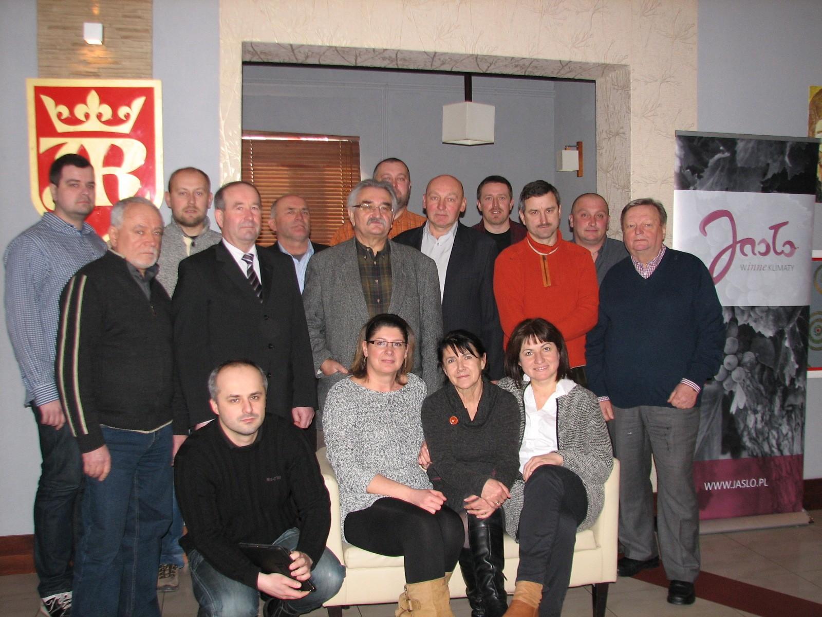 Uczestnicy spotkania założycielskiego. Fot. © archiwum Stowarzyszenia