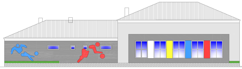 Wizualizacja budynku technicznego na osiedlu Rafineryjnym. © Urząd Miasta Jasła