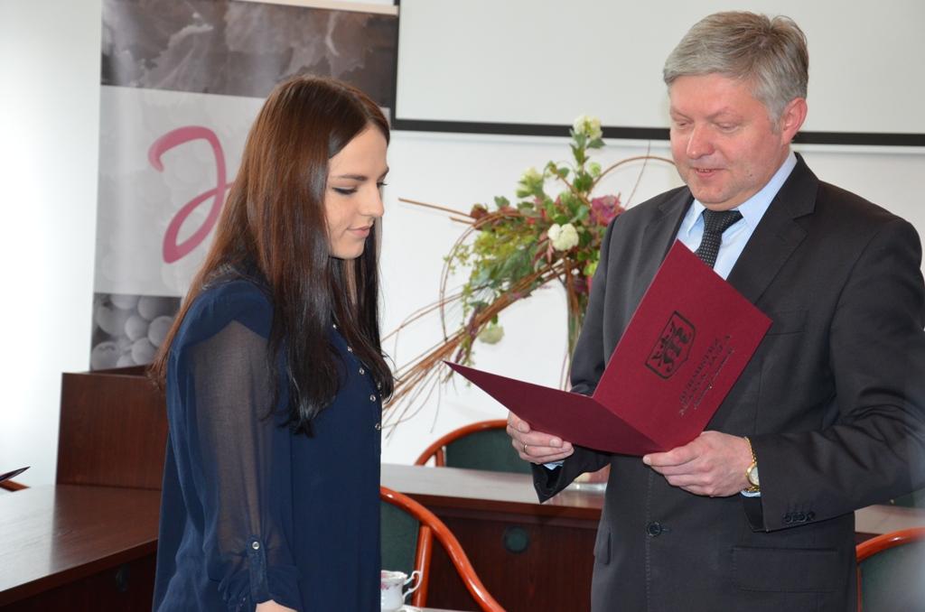 Aleksandra Tocka. Fot. © Urząd Miasta w Jaśle