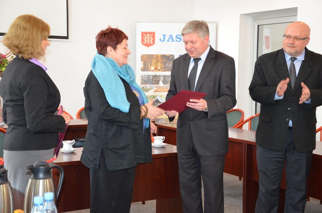 Małgorzata Samborska. Fot. © Urząd Miasta w Jaśle