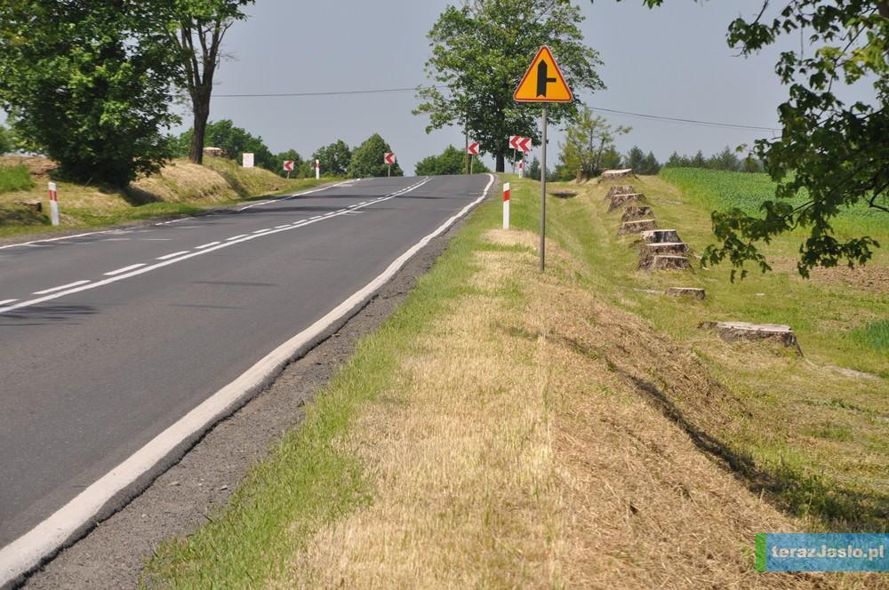 Modernizacja drogi krajowej nr 28 między Jasłem, a Krosnem to konieczność - uważają samorządowcy. Fot. © terazJaslo.pl / DAMIAN PALAR