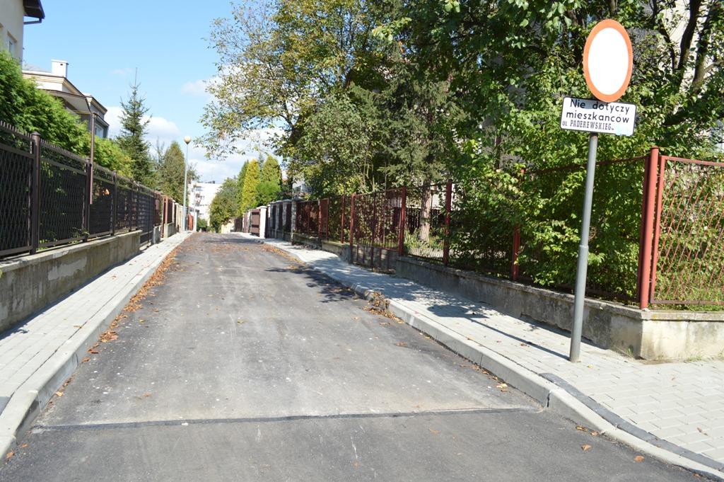 Ulica Ignacego Jana Paderewskiego