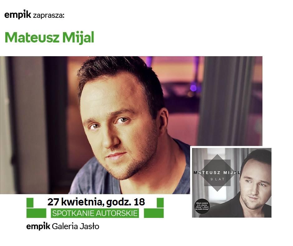 Mateusz Mijal Empik Jasło 2016