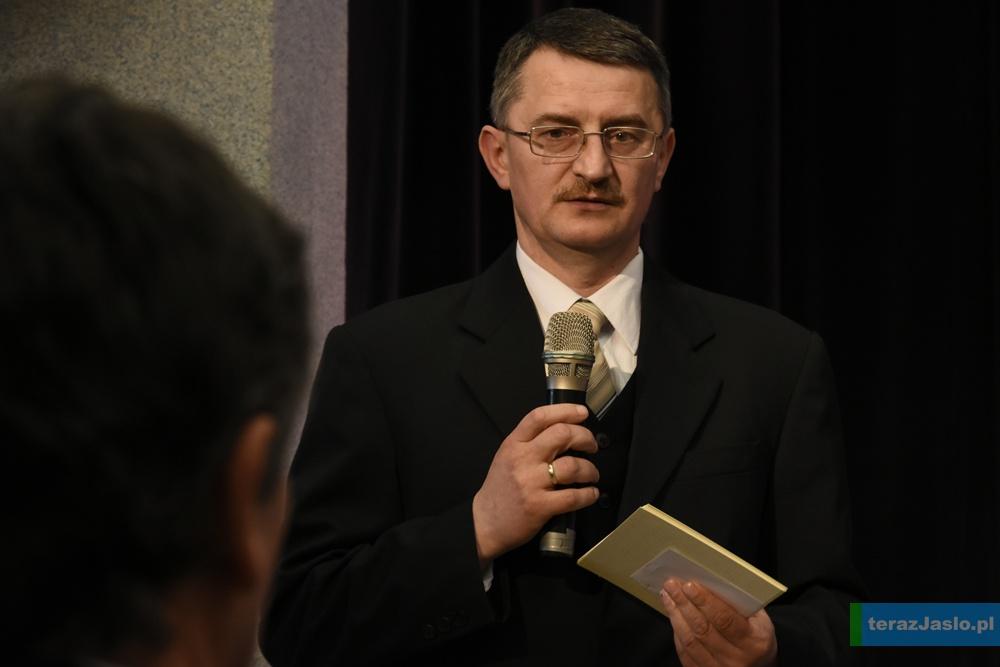 Przewodniczący komisji konkursowej - Ryszard Turek. Fot. © terazJaslo.pl / Damian PALAR