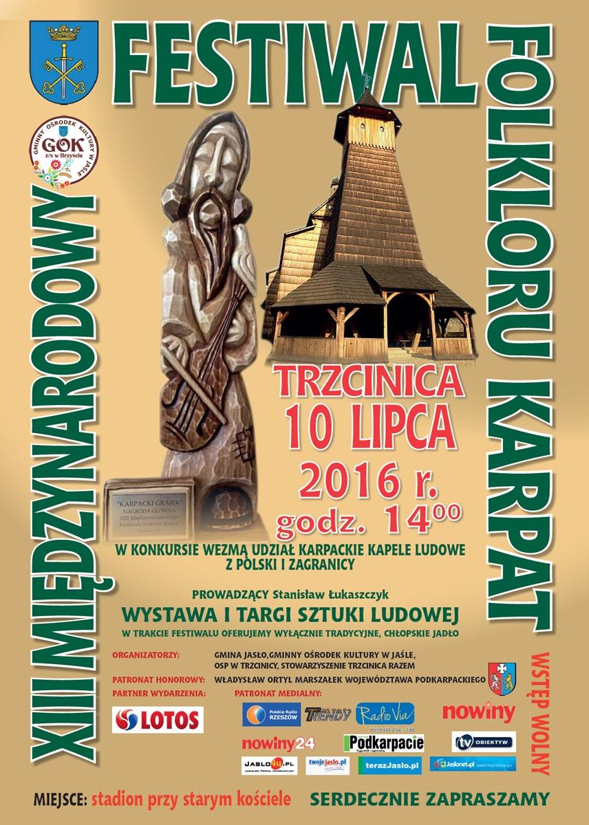 XIII Międzynarodowy Festiwal Folkloru Karpat