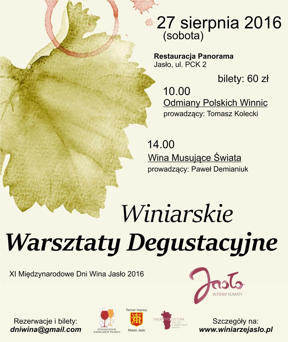 Winiarskie Warsztaty Degustacyjne