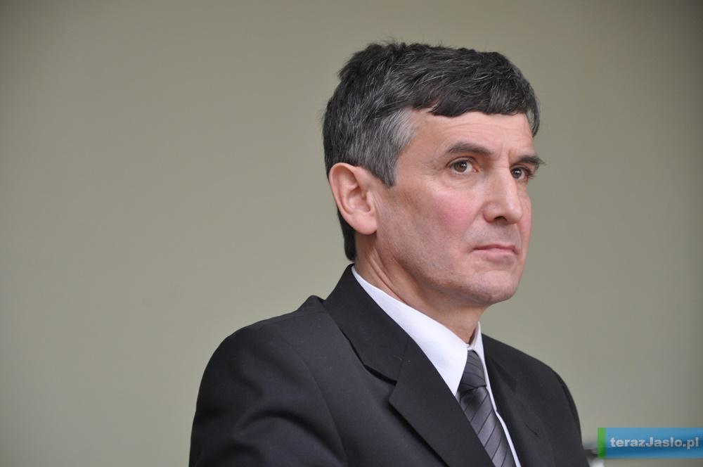 Mariusz Sepioł jest starostą jasielskim od 1 grudnia 2015 roku. Fot. © terazJaslo.pl / Damian PALAR