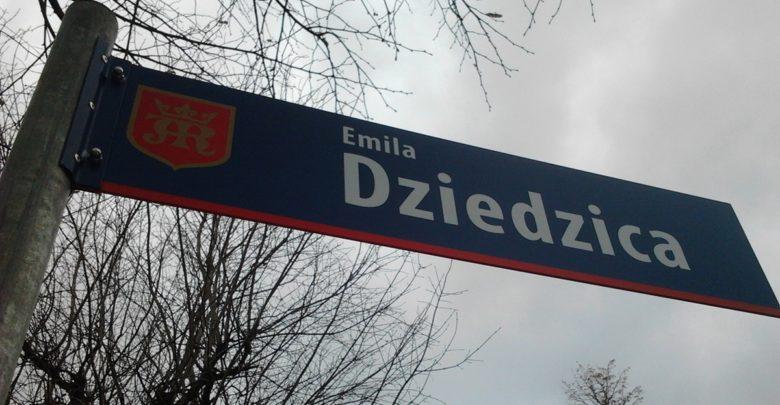 Ulica Emila Dziedzica w Jaśle